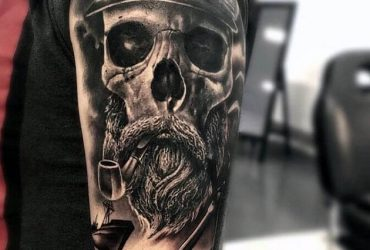 best-tattoos-with-a-skull-on-it