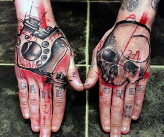 Skull Hand Tattoo For Men And Women 2019 Tattoo Shoo