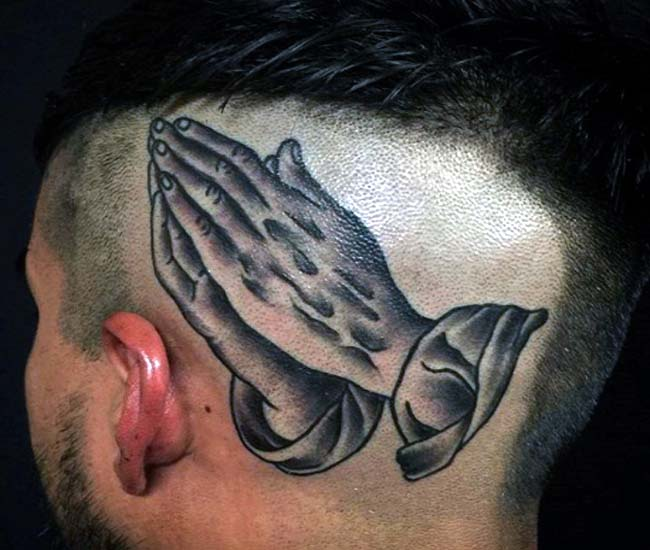 2fc8ad5f3 70+ Top Phenomenal Praying Hands Tattoo for 2019