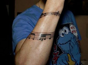 Music Note Tattoo