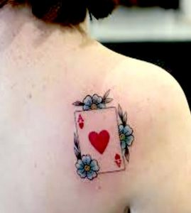 Ace of hearts tattoo meaning